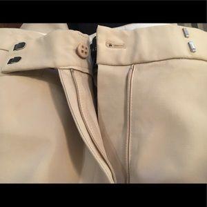 Talbots dress khakis size 12